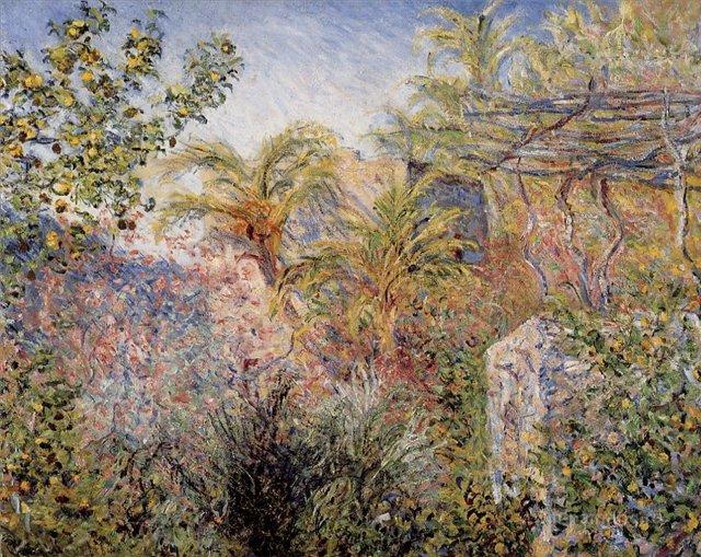 южные пейзажи < Долина, Бордигера >:: Клод Моне, описание картины - Моне Клод (Claude Monet) фото