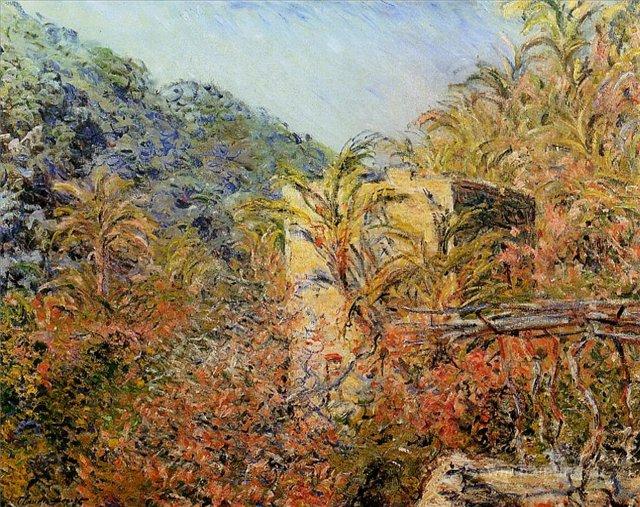 южные пейзажи < Долина в лучах солнца >:: Клод Моне, описание картины - Claude Monet фото