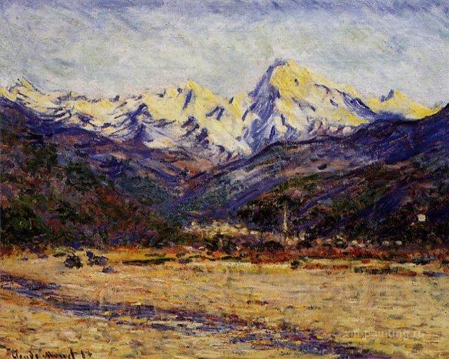южные пейзажи < Долина >:: Клод Моне, описание картины - Моне Клод (Claude Monet) фото