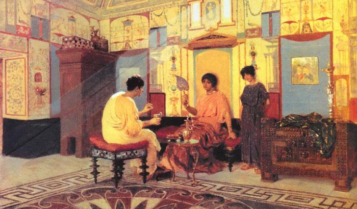 картина < Соседки. Сцена из римской жизни > :: - Древний Рим и Греция, Египет фото