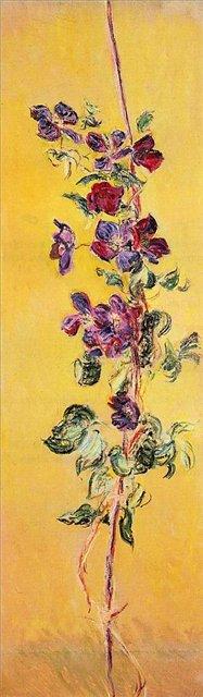 цветы < Кобея >:: Клод Моне, описание картины - Моне Клод (Claude Monet) фото