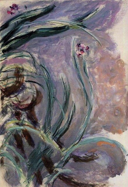 цветы < Ирисы >:: Клод Моне, описание картины - Моне Клод (Claude Monet) фото