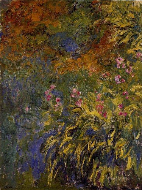 цветы < Ирисы >:: Клод Моне, описание картины - Claude Monet фото