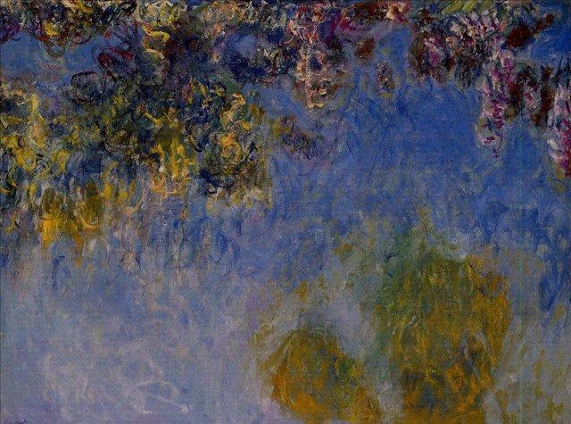цветы Глициния:: Клод Моне, описание картины - Claude Monet фото