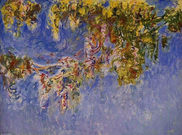 цветы Глициния :: Клод Моне, описание картины - Claude Monet фото