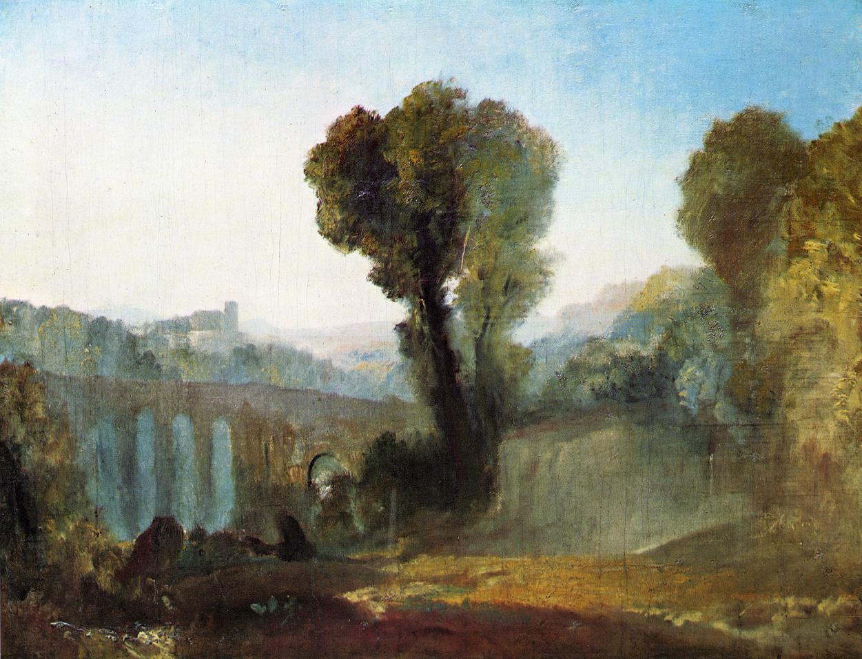 картина < Аричча - закат >:: Уильям Тёрнер ( William Turner ) - Тёрнер Уйльям фото