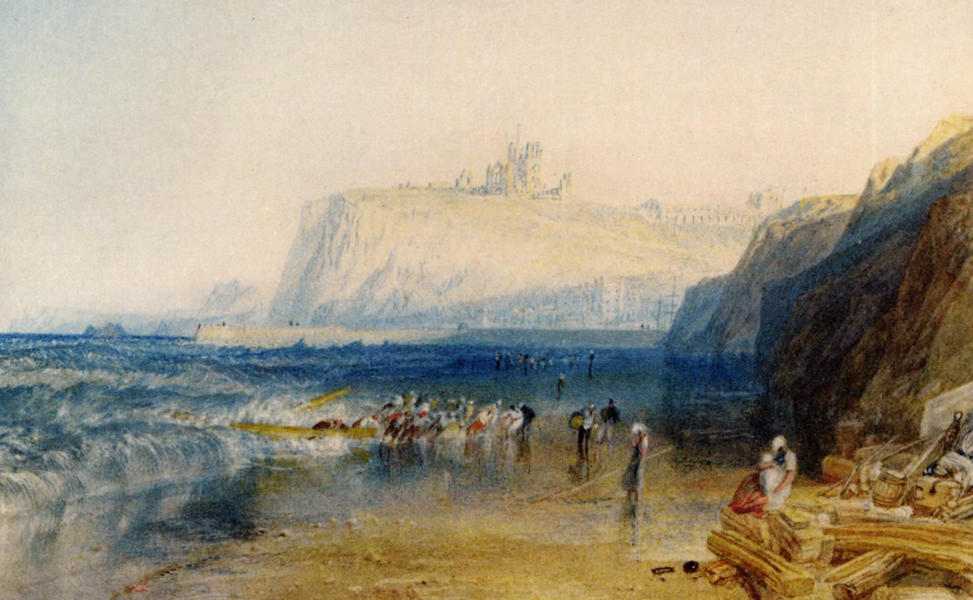 прибрежный пейзаж Витби :: Уильям Тёрнер - William Turner фото