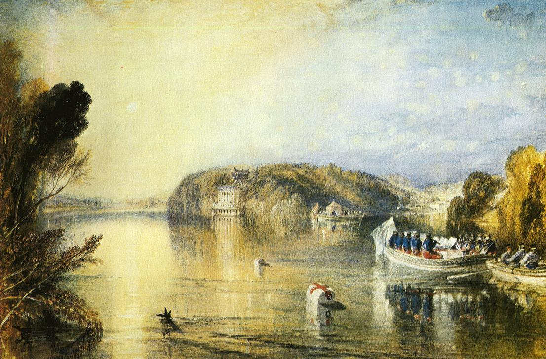 картина < Вода Вирджинии >:: Уильям Тёрнер ( William Turner ) - William Turner фото