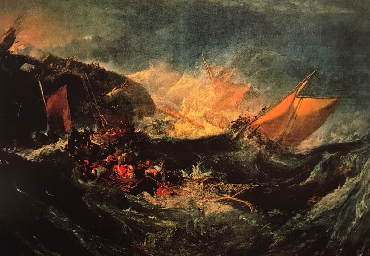 картина < Кораблекрушение >:: Уильям Тёрнер ( William Turner ) - Тёрнер Уйльям фото
