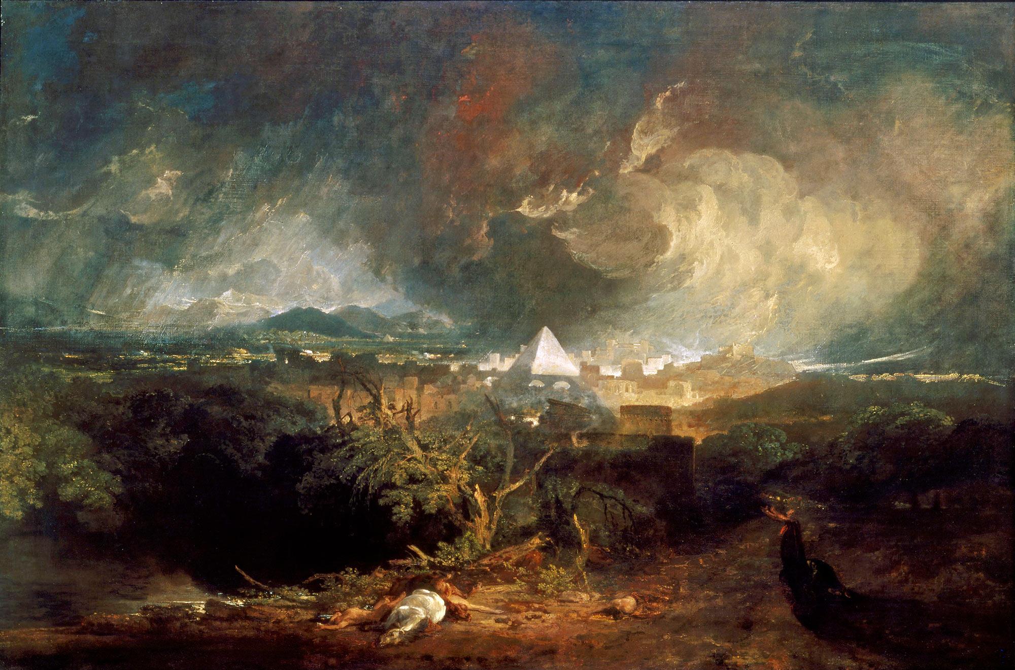 картина < Пятое мучение Египта, чума >:: Уильям Тёрнер ( William Turner ) - Тёрнер Уйльям фото