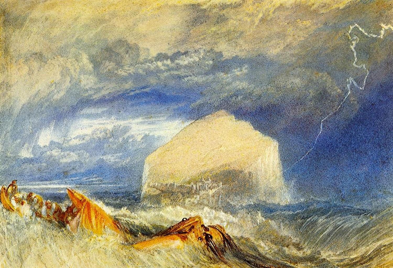 пейзаж Скала Окунь (Старая провинциальная Шотландия) :: Уильям Тёрнер - William Turner фото