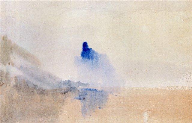 картина Штудия замка на озере :: Уильям Тёрнер - William Turner фото