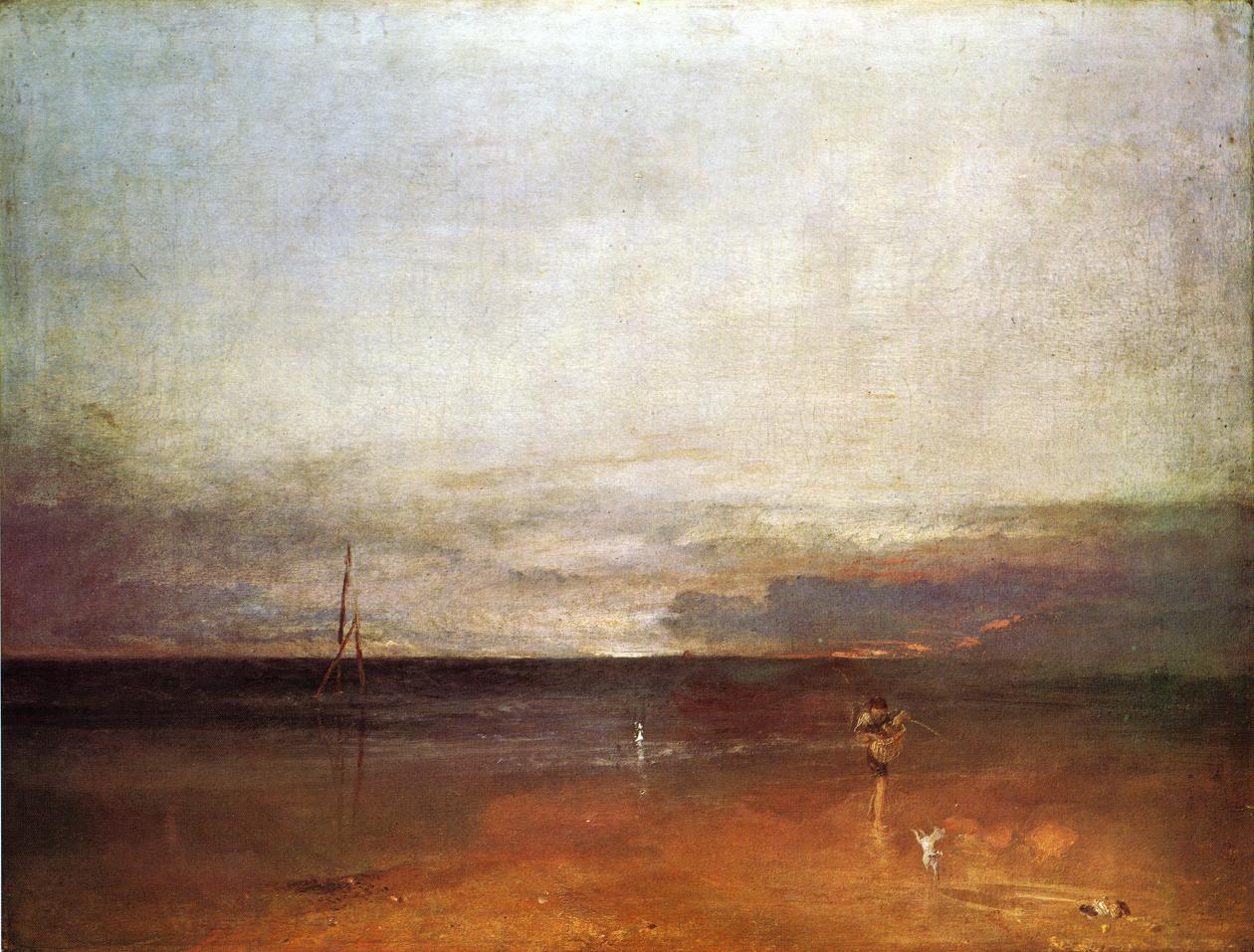картина < Скалистая бухта с фигурами >:: Уильям Тёрнер ( William Turner ) - Тёрнер Уйльям фото