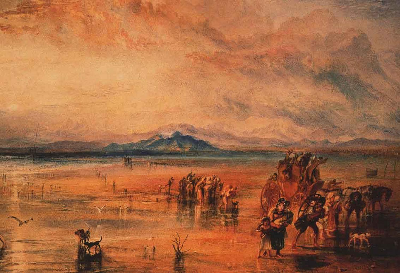 картина Ланкастерские пески :: Уильям Тёрнер - William Turner фото