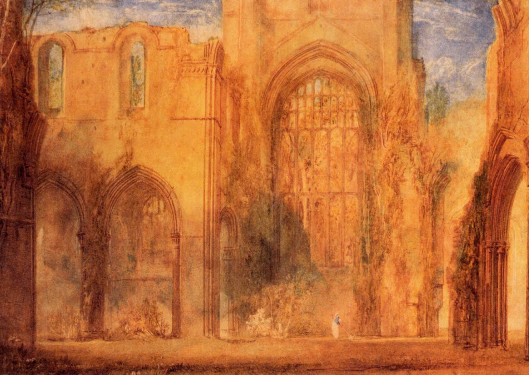 картина Аббатство в Йоркшире :: Уильям Тёрнер - William Turner фото