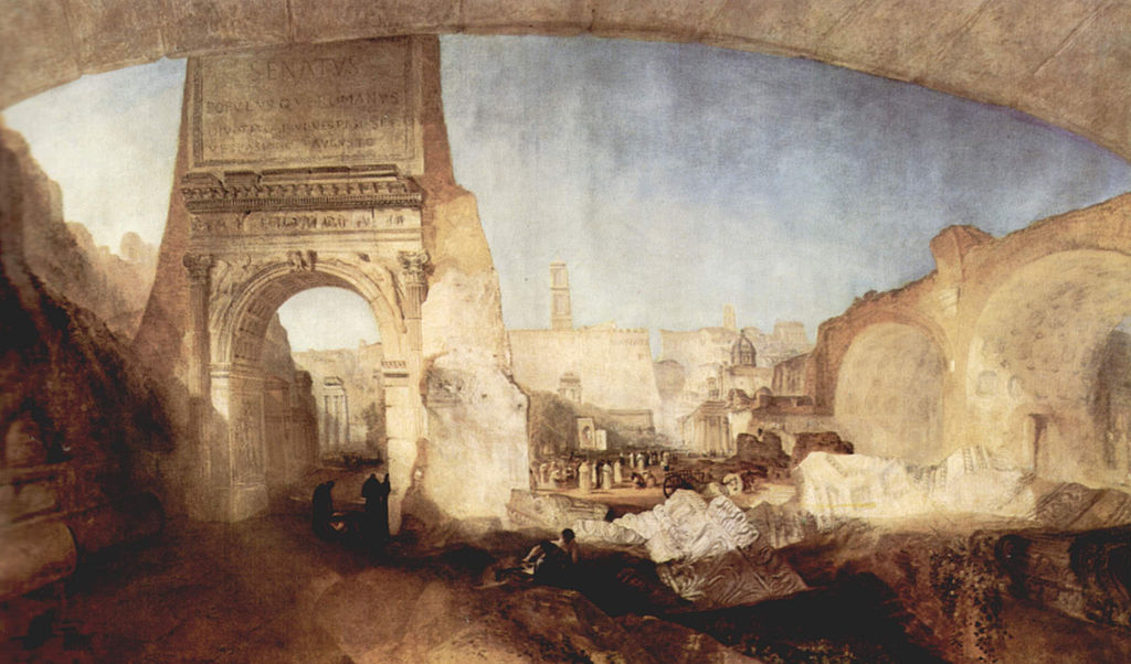 картина Римский форум для музея мистера Соуна :: Уильям Тёрнер - William Turner фото