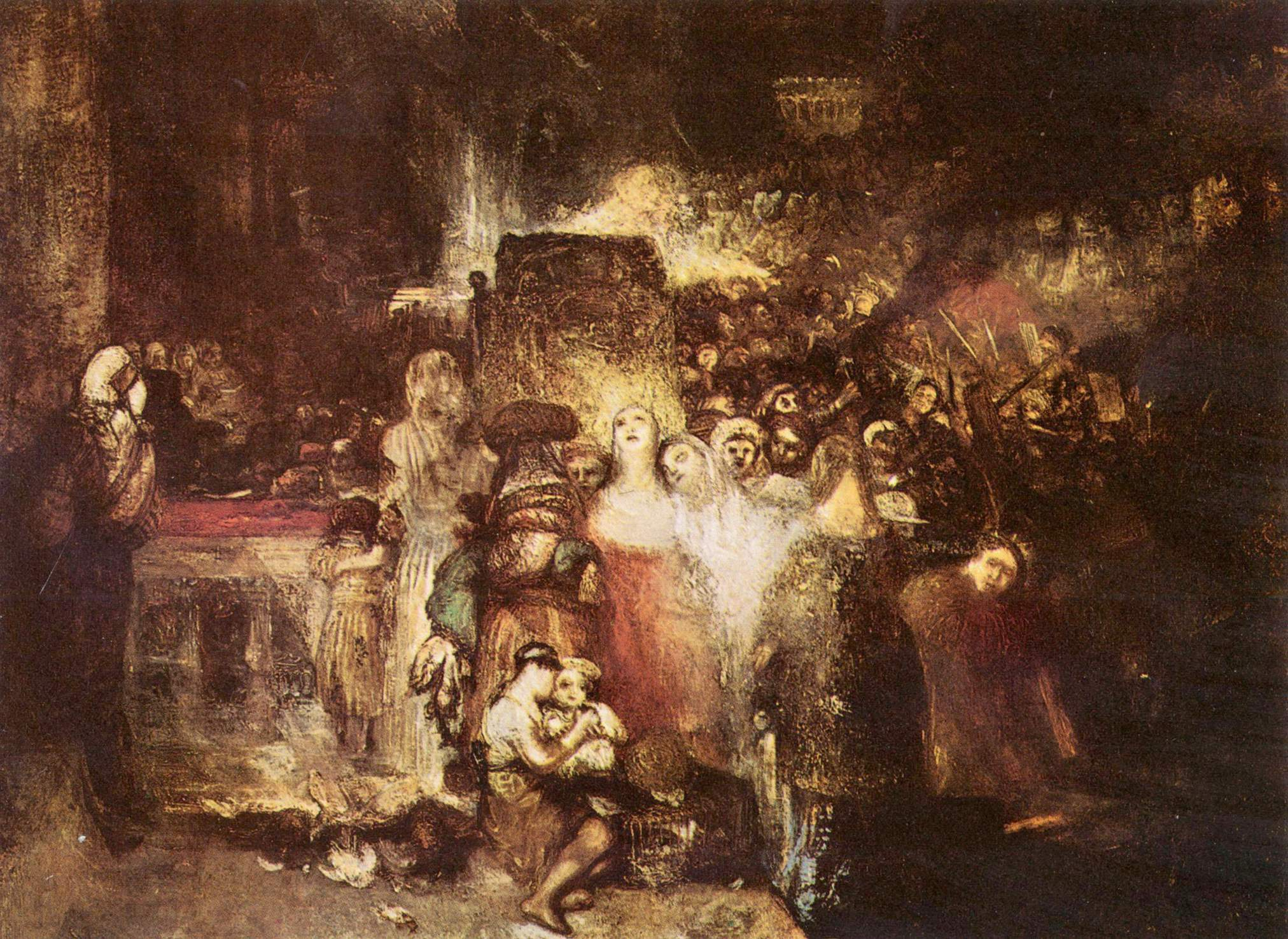 картина Пилат, умывающий руки :: Уильям Тёрнер - William Turner фото