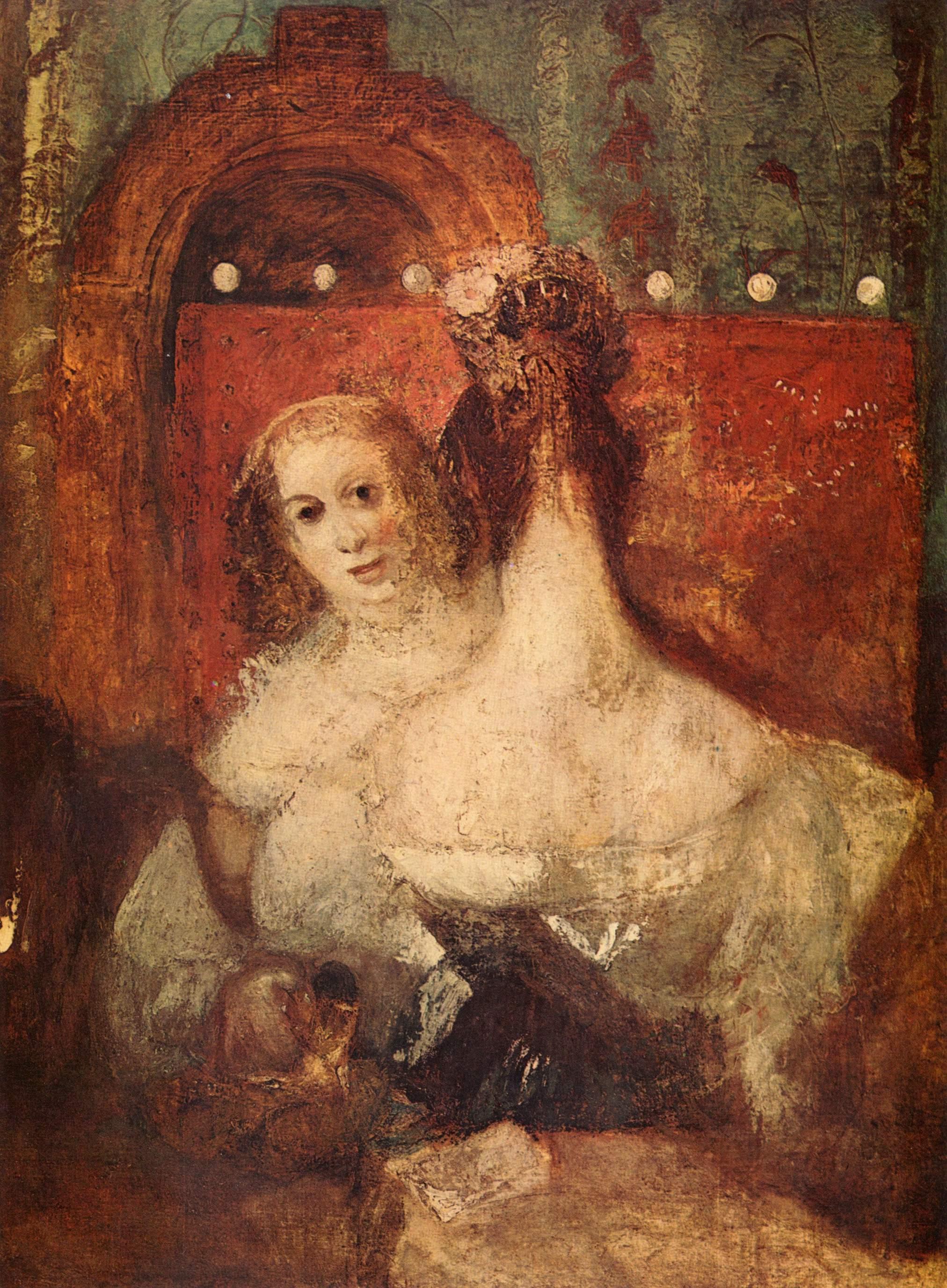картина < Две женщины и одно письмо >:: Уильям Тёрнер ( William Turner ) - Тёрнер Уйльям фото