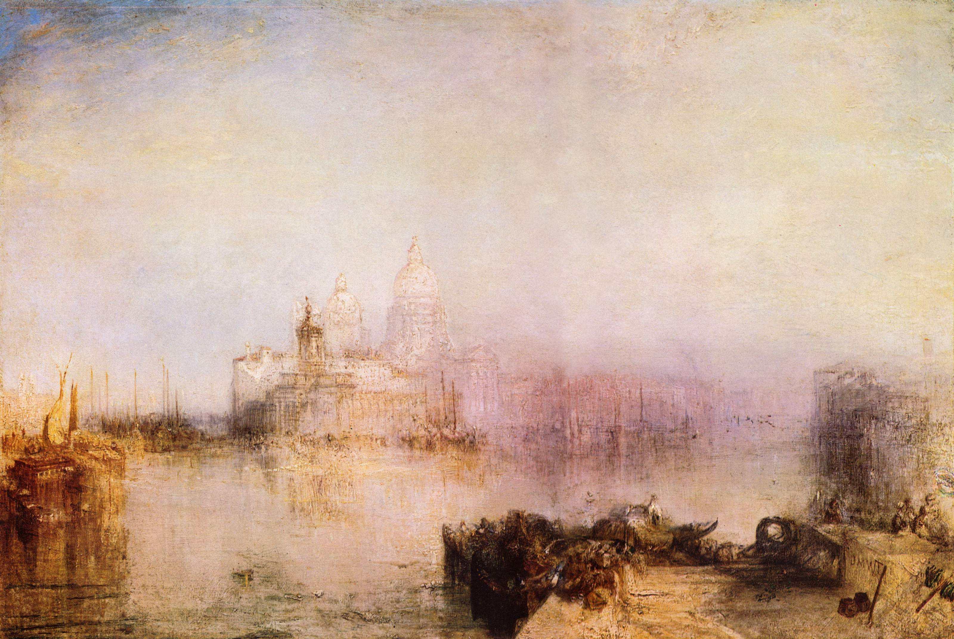 картина Догана и Санта Мария делла Салюте в Венеции :: Уильям Тёрнер - William Turner фото