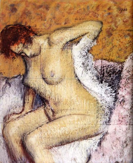картины После Ванны:: Эдгар Дега - Ню в искусстве и живописи - Картины ню, эротика в шедеврах живописи фото