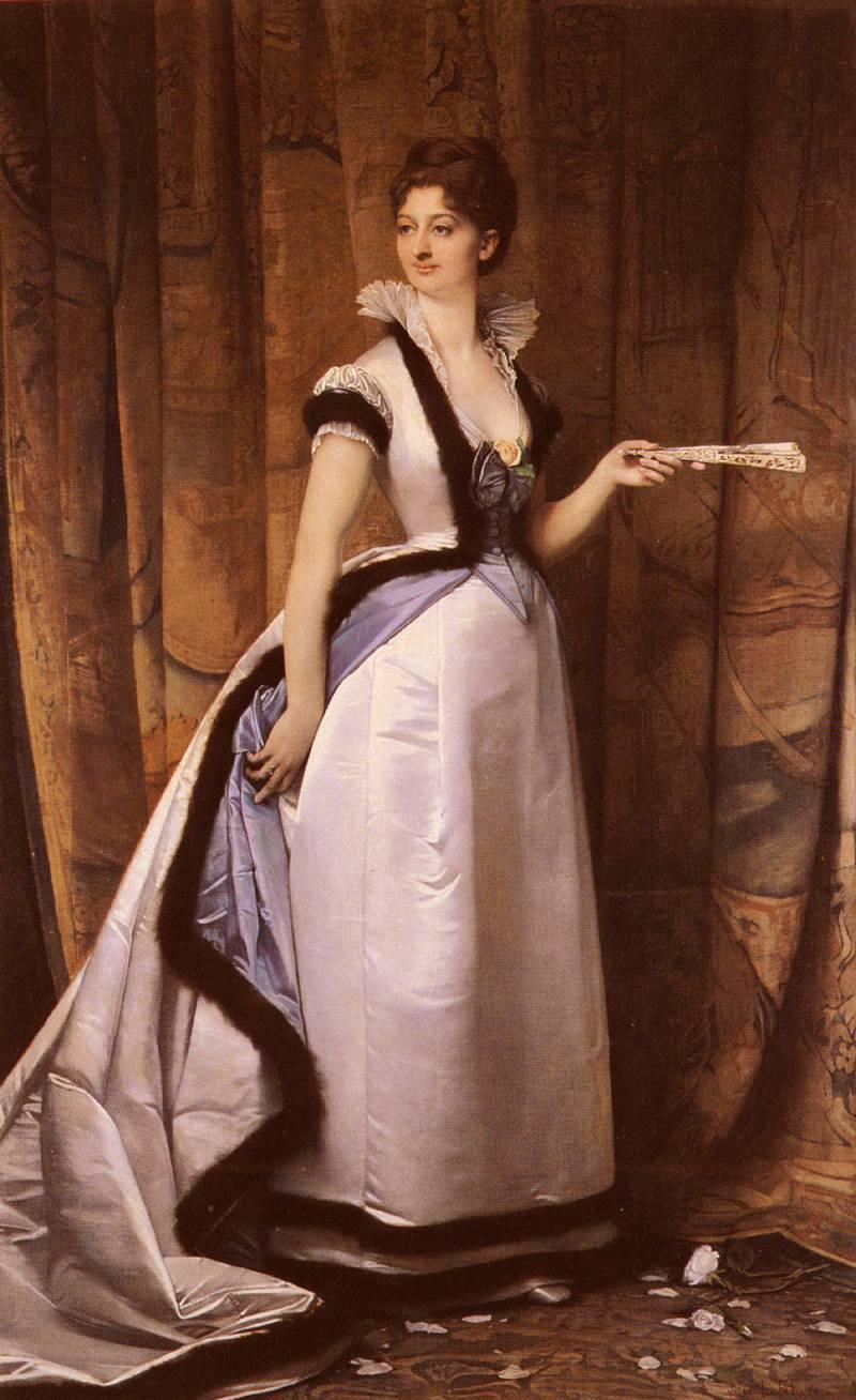 Портрет женщины :: Жюль Жозеф Лефевр  - Портреты фото
