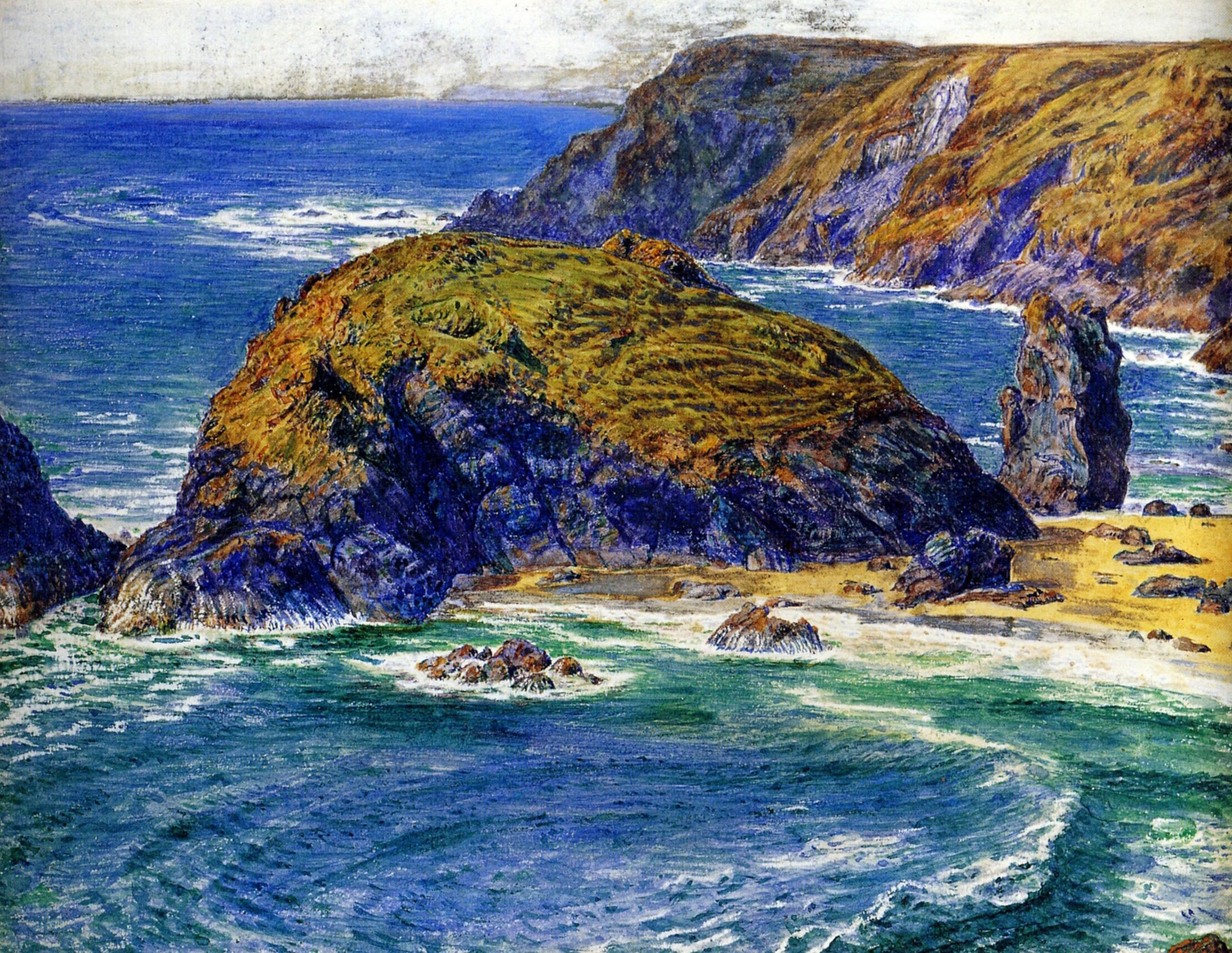 Остров Аспаргус :: Уильям Холман Хант - Море в живописи ( морские пейзажи, seascapes ) фото