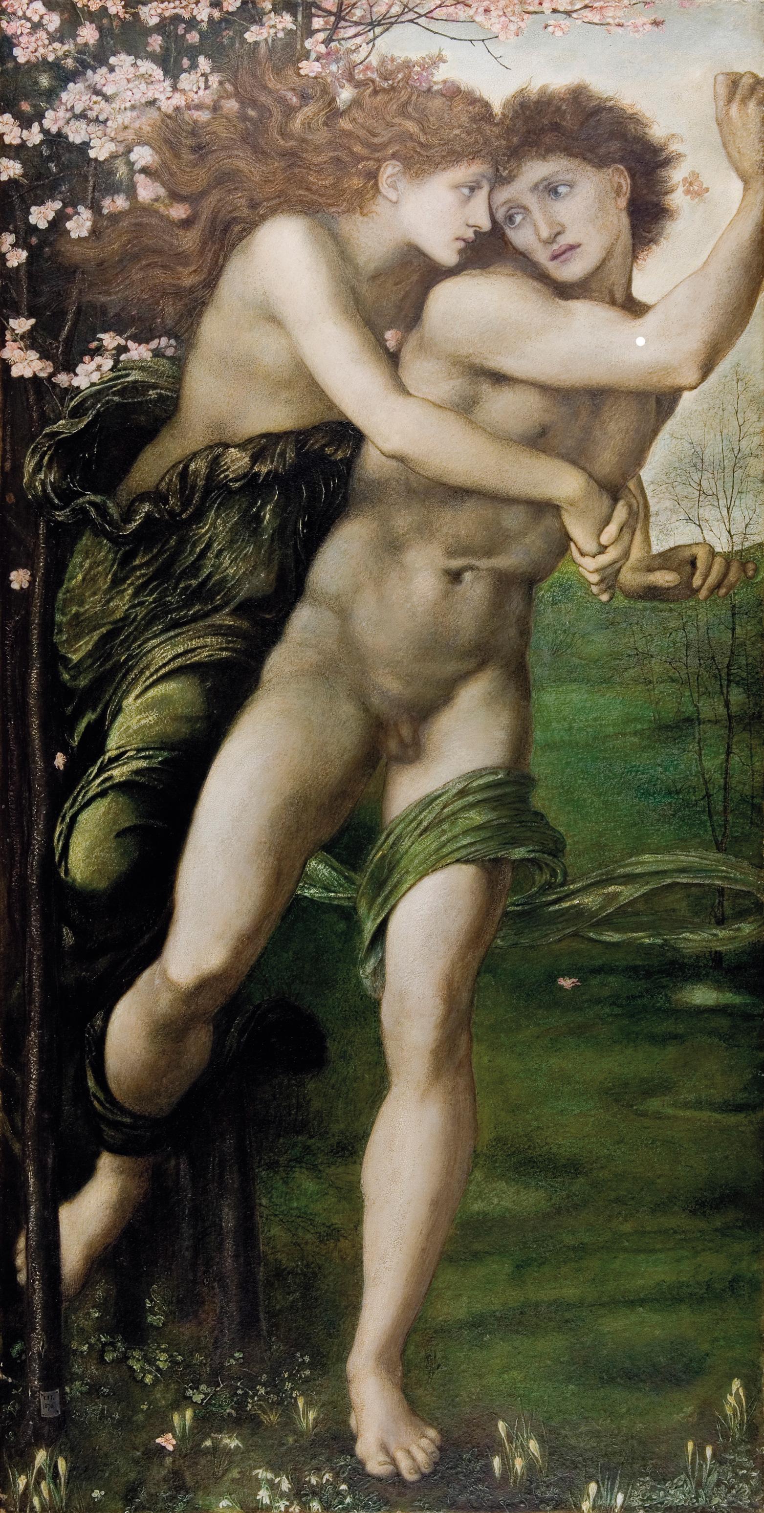 Филлида и Демофонт :: Сэр Эдвард Бёрн-Джонс - Edward Coley Burne-Jones фото