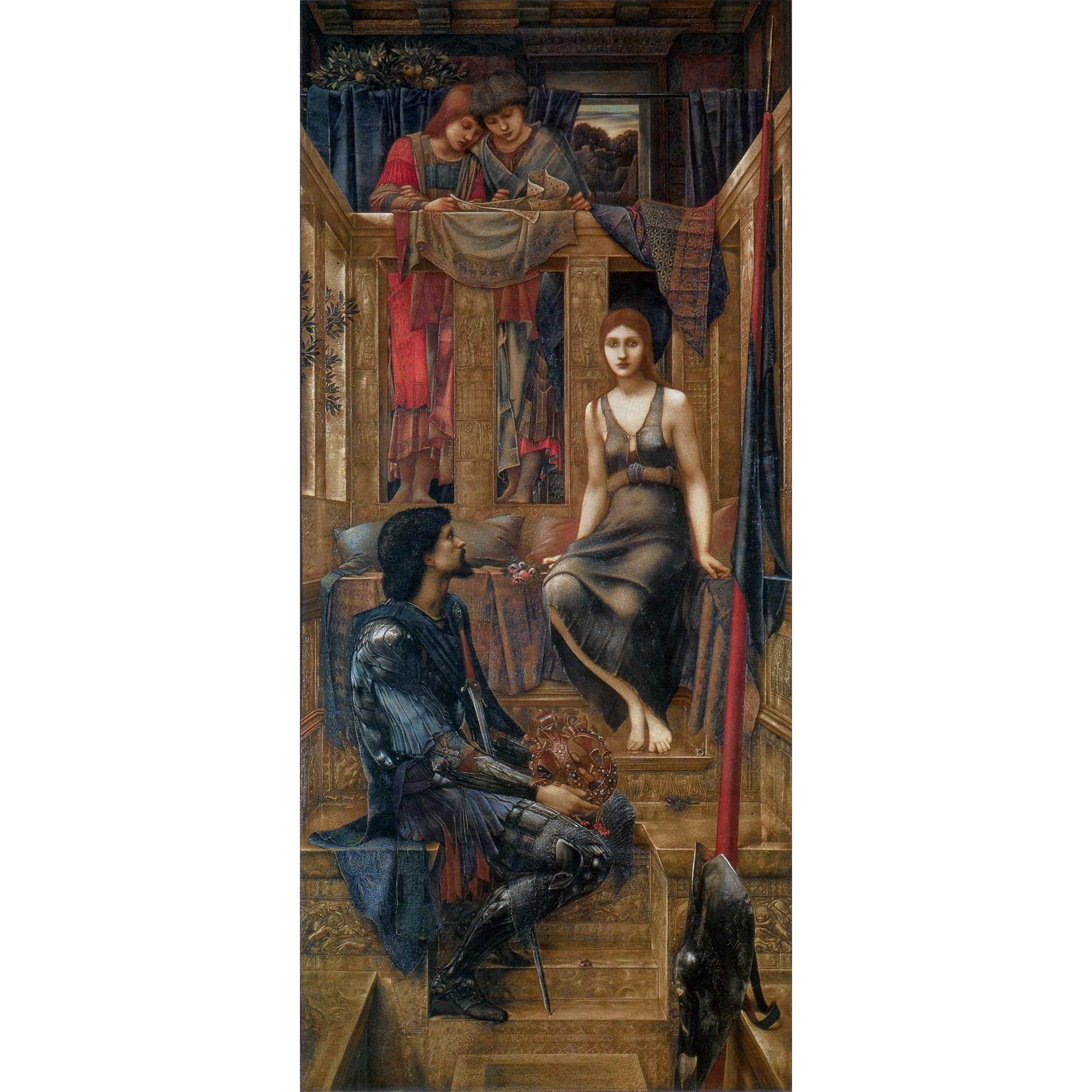Король Кофетуа и бедная Дева - Берн-Джонс, Эдуард фото