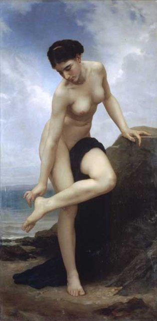 Ню, эротическая живопись в картинах великих художников - Картины ню, эротика в шедеврах живописи фото