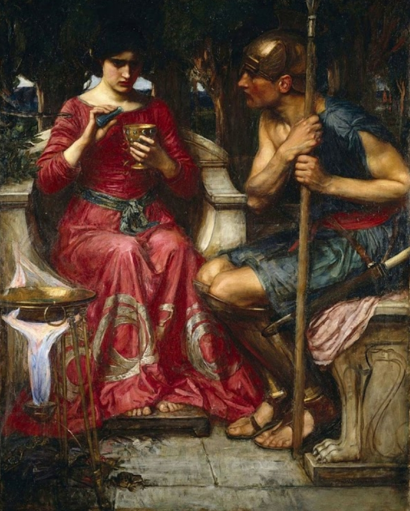Ясон и Медея ::  Джон Уйльям Вотерхауз - Античная мифология фото