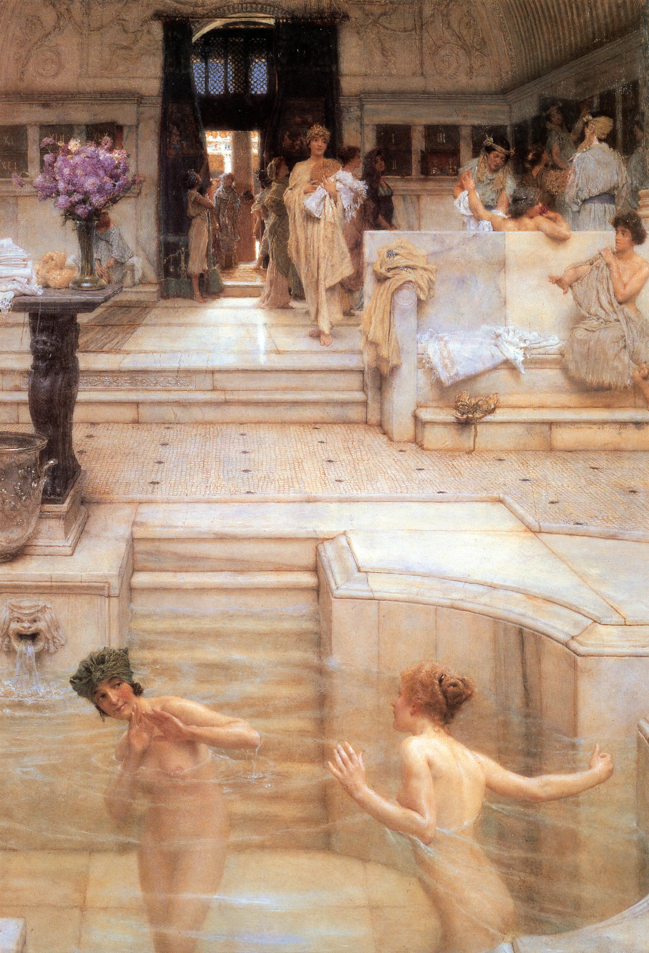 Римские бани оргии 10 фотография
