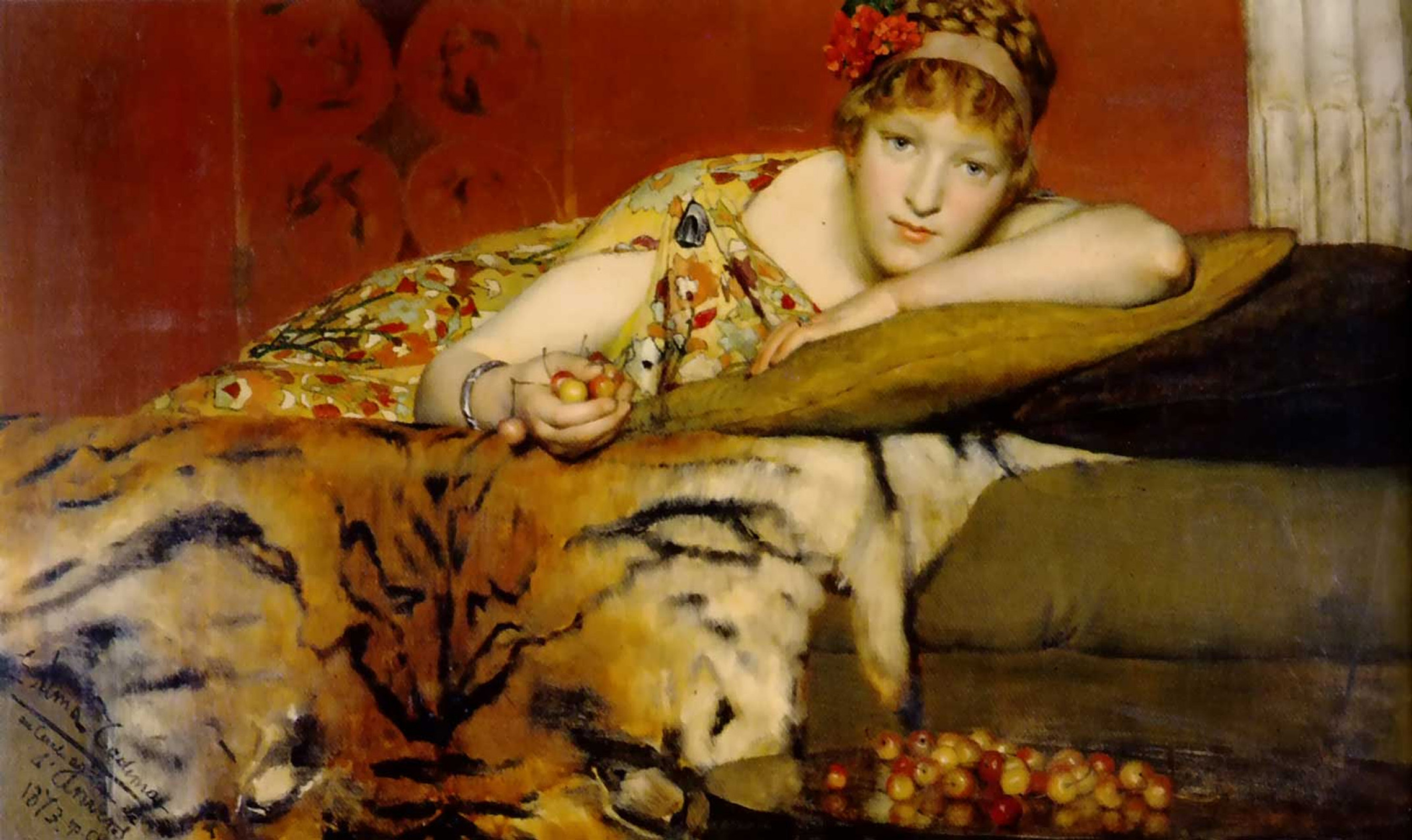 картина Вишни :: Альма-Тадема сэр Лоуренс - Lourens Alma Tadema фото