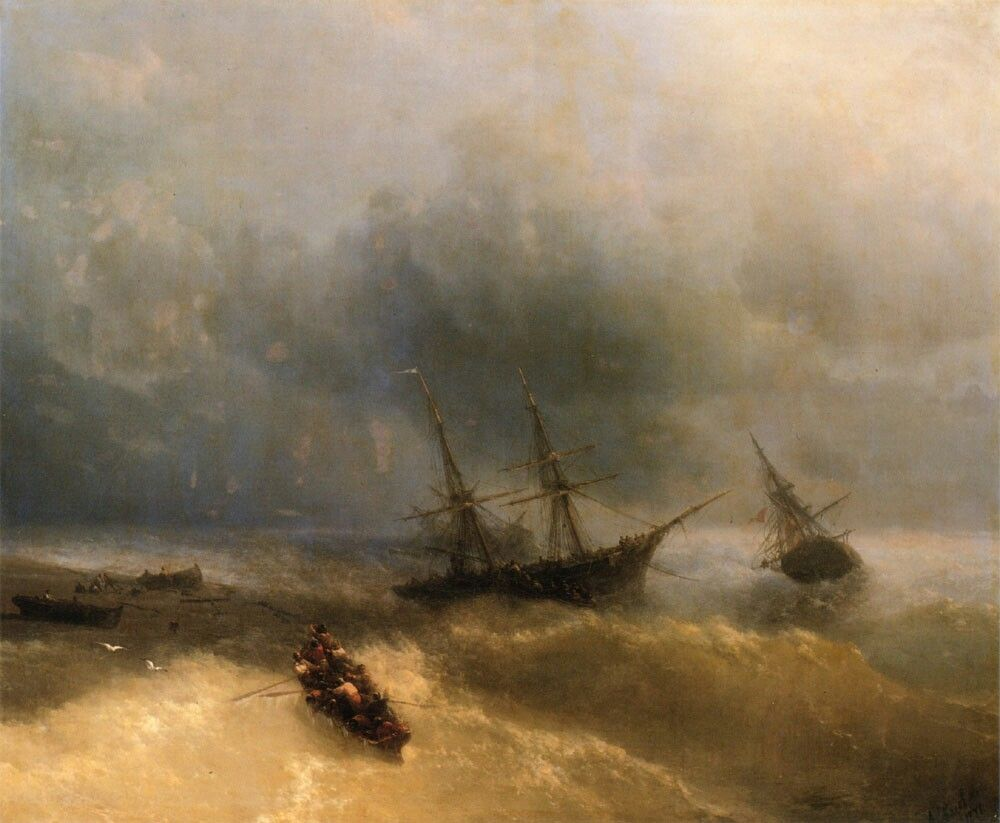 ��������������� :: ����������� ���� �������������� - ���� � �������� ( ������� �������, seascapes ) ����