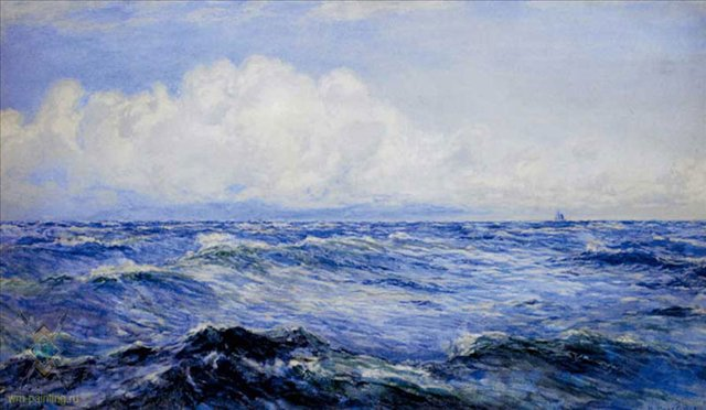 Светлое утро после бриза :: Генри Мур - Море в живописи ( морские пейзажи, seascapes ) фото
