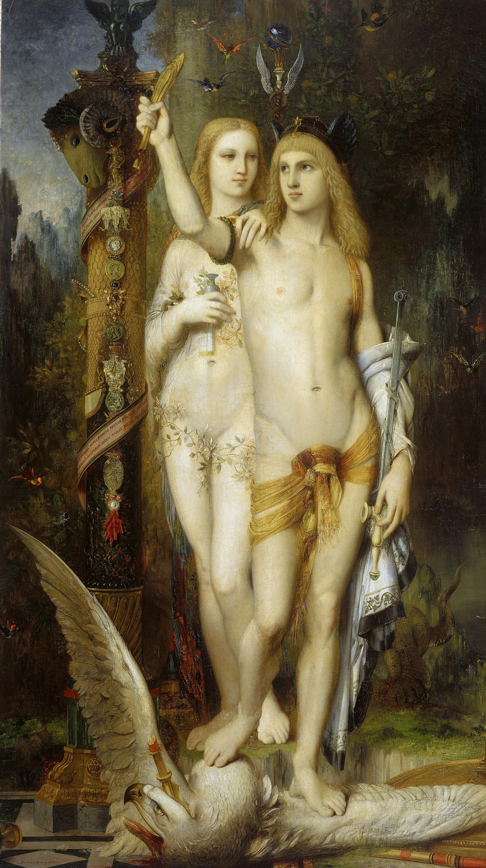 картина Ясон и Медея :: Гюстав Моро - Античная мифология фото