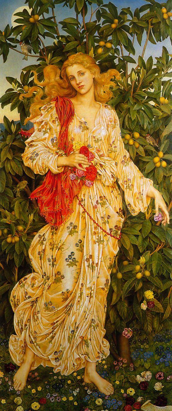 Флора :: Эвелин Морган - Античная мифология фото