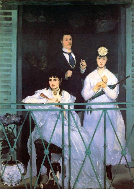 Балкон :: Эдуард Мане - Edouard Manet (Эдуард Мане) фото