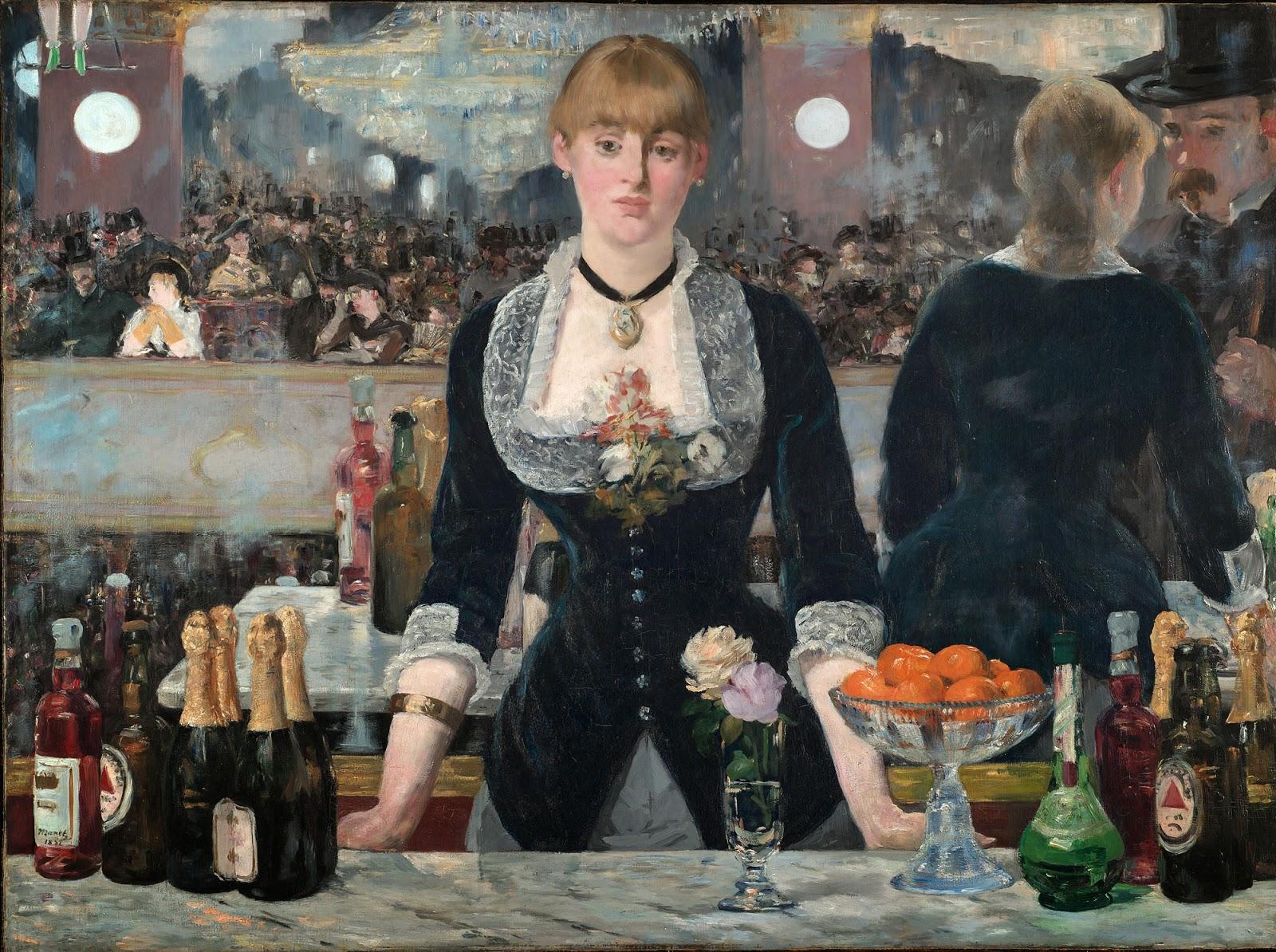 картина Бар в Фоли-Бержер :: Эдуард Мане - Edouard Manet фото