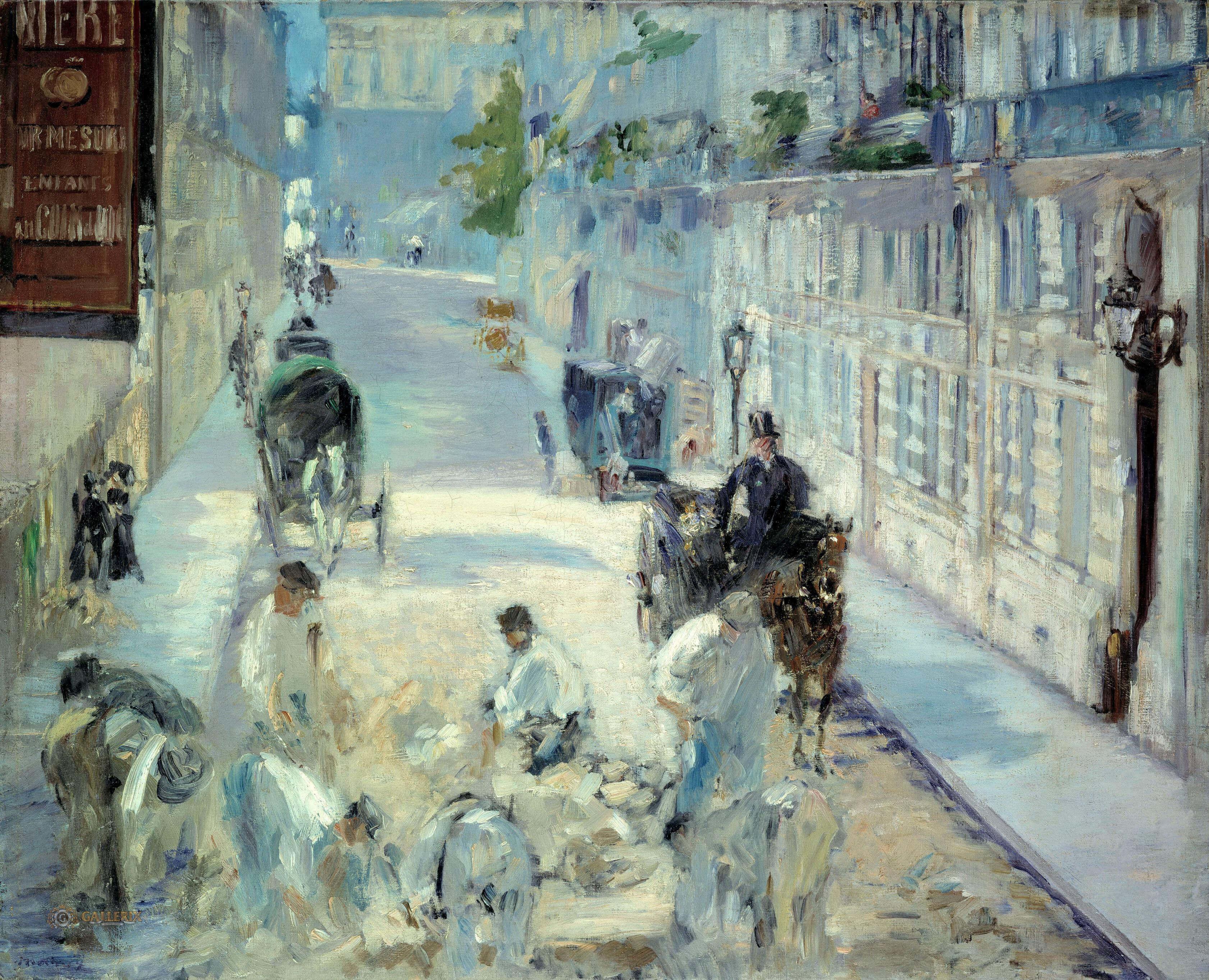 картина Путешествуя :: Эдуард Мане - Edouard Manet (Эдуард Мане) фото