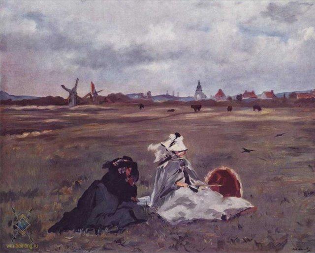 картина Ласточки :: Эдуард Мане - Edouard Manet (Эдуард Мане) фото