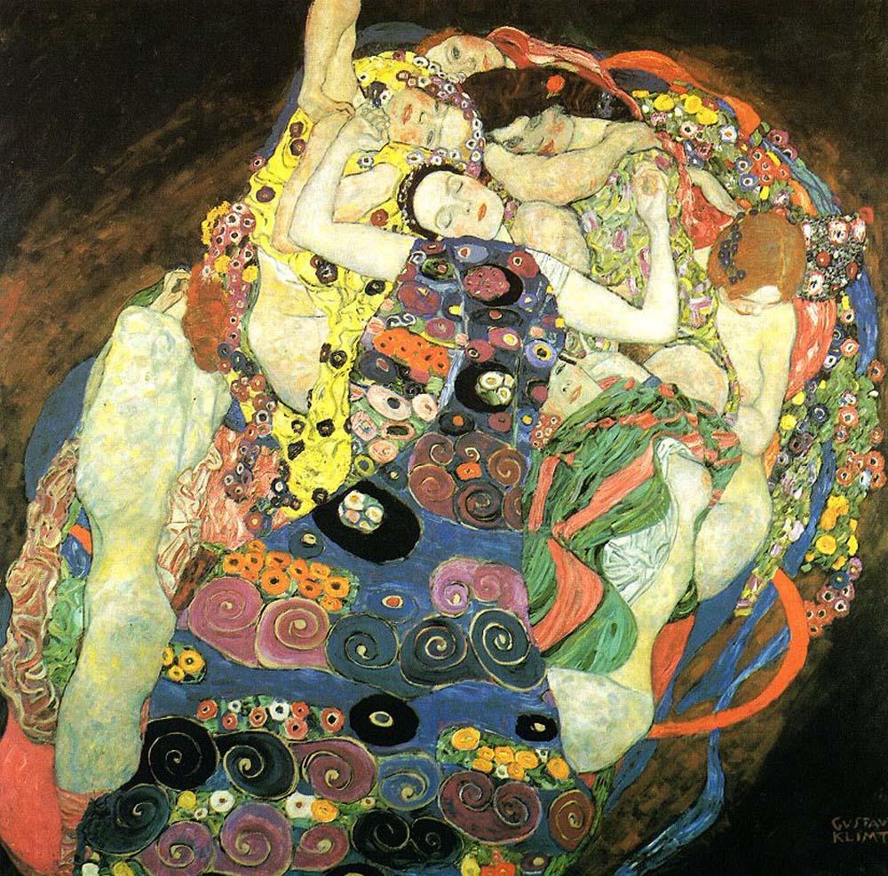 Девственницы ( Девы ) :: Густав Климт - Gustav Klimt фото