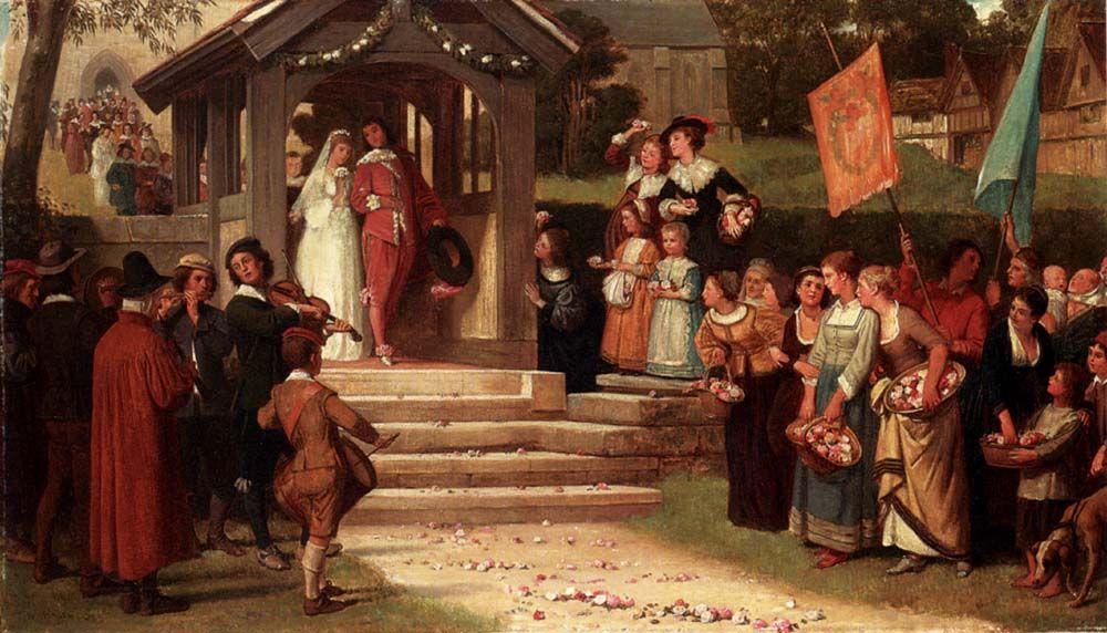 Путь из роз :: Уйльям Фредерик Джеймс - Натюрморт, цветы ( new ) фото