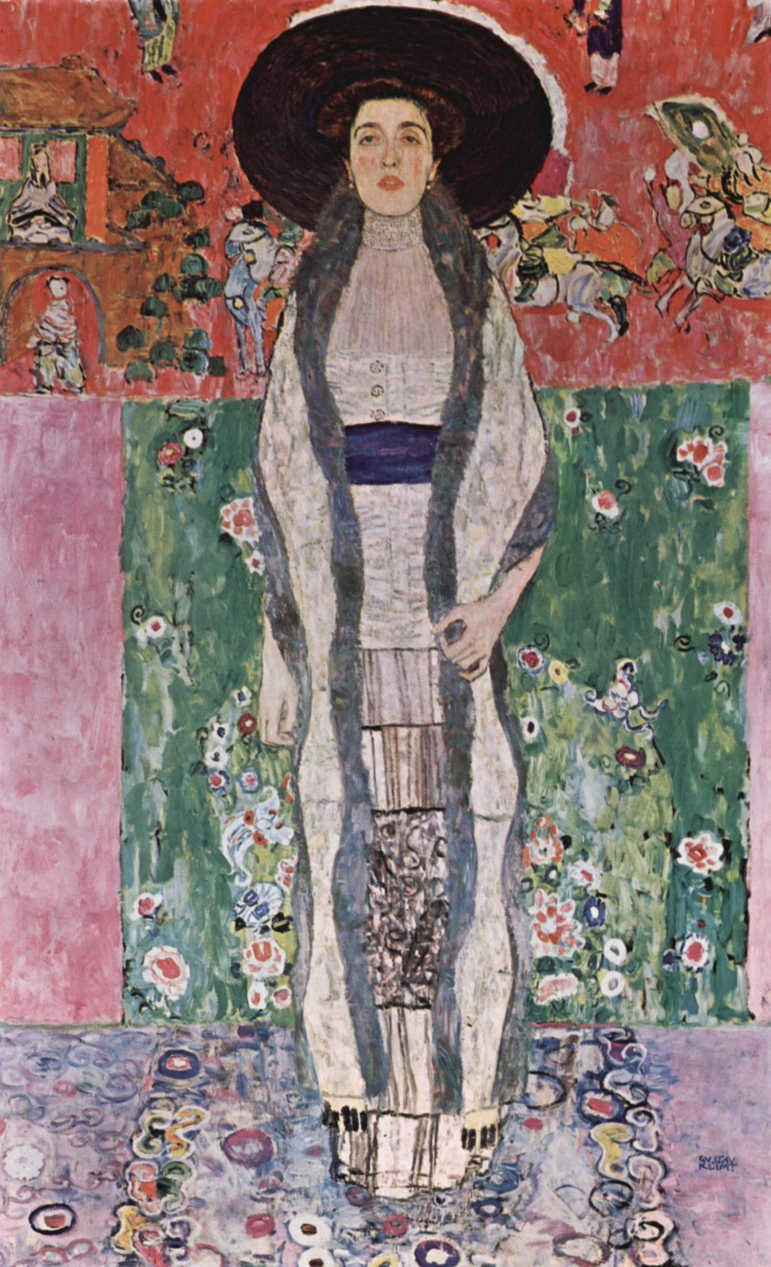 Портрет Адели Блох-Бауэр :: Густав Климт - Gustav Klimt (Климт Густав ) фото
