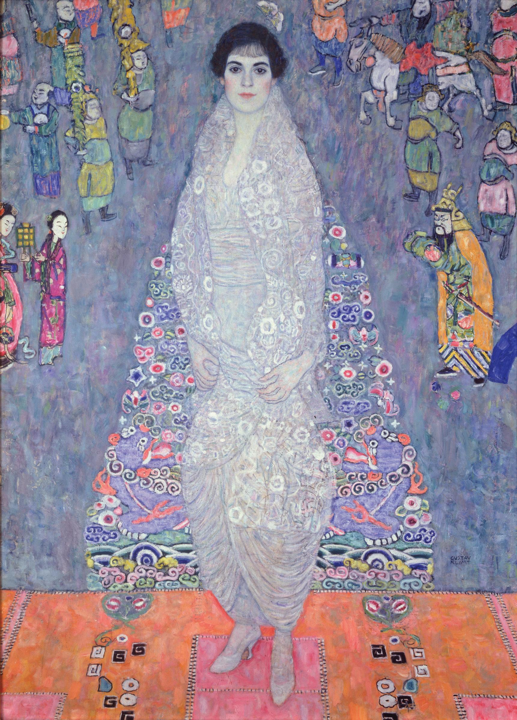 Портрет баронессы Элизабет Бахоффен-Экт :: Густав Климт - Gustav Klimt фото