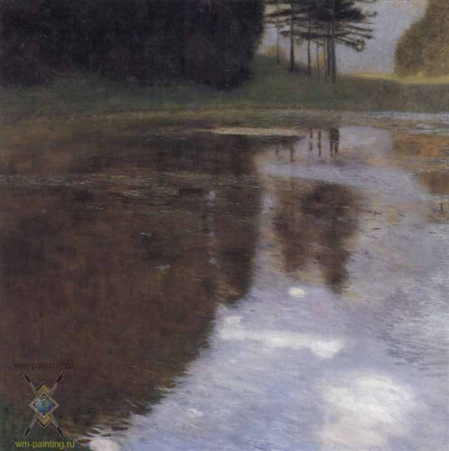 Тихий пруд :: Густав Климт - Gustav Klimt (Климт Густав ) фото