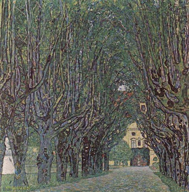 Аллея в парке замка Каммер - Gustav Klimt (Климт Густав ) фото