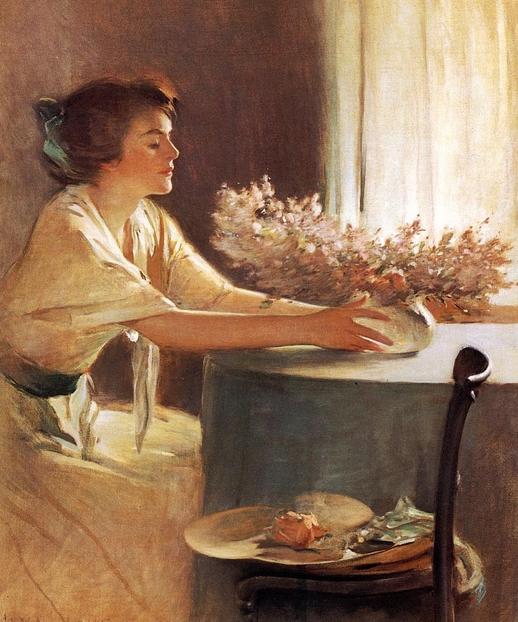 Цветы луга :: Джон Уайт Александр - Натюрморт, цветы ( new ) фото