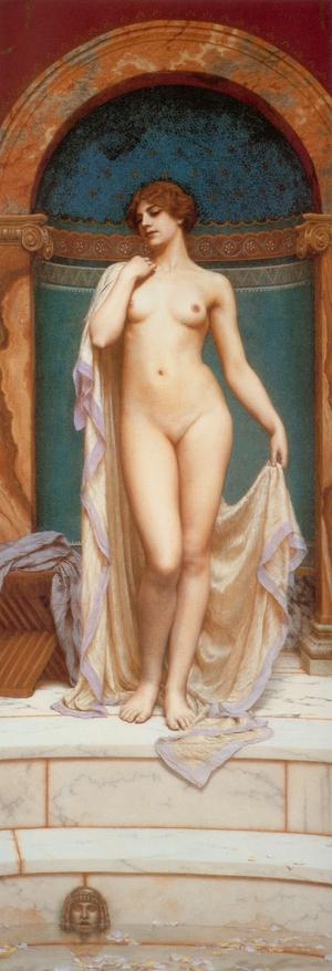 Венера в купальне :: Джон Уйльям Годвард - Картины ню, эротика в шедеврах живописи фото
