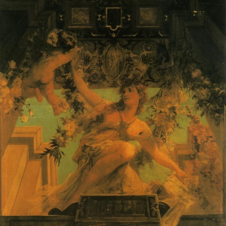 Аллегория семейной жизни :: Ханс Макарт - Античная мифология фото