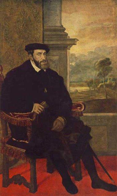 Карл V :: Тициан - Исторические сюжеты в живописи фото